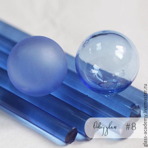 Для украшений ручной работы. Ярмарка Мастеров - ручная работа. Купить стекло #8 - Bellflower (Колокольчик) для lampwork Odry glass coe 104. Handmade.