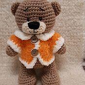 Мягкие игрушки ручной работы. Ярмарка Мастеров - ручная работа Медвежонок Рыжик. Handmade.
