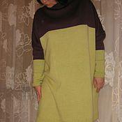 Одежда ручной работы. Ярмарка Мастеров - ручная работа Платье оверсайз. Handmade.
