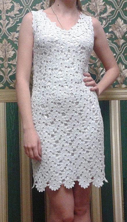"""Платья ручной работы. Ярмарка Мастеров - ручная работа. Купить Платье для  выпускного """"Жасмин"""". Handmade. Белый, вечернее платье"""
