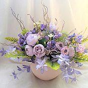 Цветы и флористика handmade. Livemaster - original item Interior composition in the planters