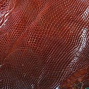 Натуральная кожа игуаны (обрезь) №6
