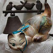 Для дома и интерьера handmade. Livemaster - original item cat fowler (ceramics). Handmade.