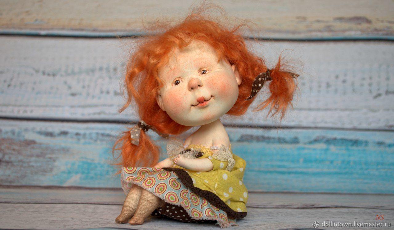 """Солнце на ладошке"" авторская кукла, Куклы и пупсы, Ярославль,  Фото №1"