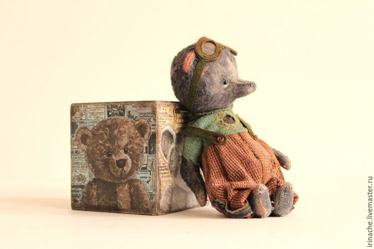 Мишки Тедди ручной работы. Ярмарка Мастеров - ручная работа. Купить Мишка. Гарри.. Handmade. Тедди, тедди медведи, серый