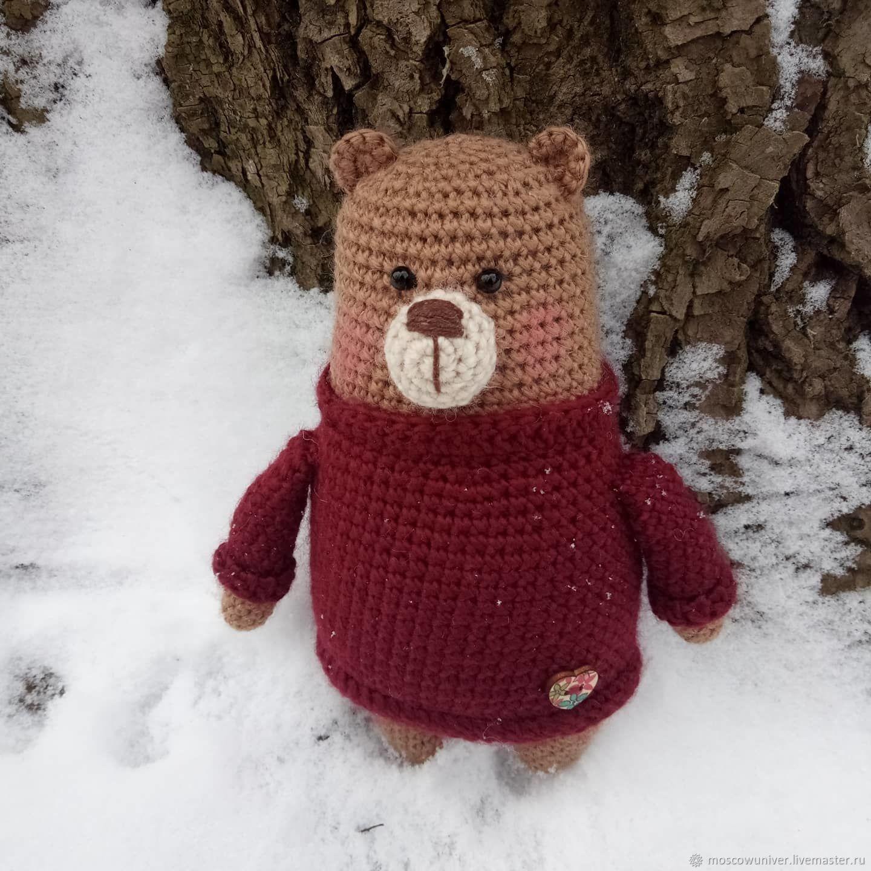 Медвежонок Бенджамин, Мягкие игрушки, Москва,  Фото №1
