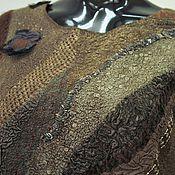 Одежда ручной работы. Ярмарка Мастеров - ручная работа Валяное платье Дриада. Handmade.