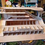 Игровые наборы ручной работы. Ярмарка Мастеров - ручная работа Парковка игровая. Handmade.