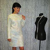 """Одежда ручной работы. Ярмарка Мастеров - ручная работа Войлочное платье  """" Лиза """". Handmade."""