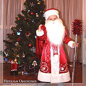 Работы для детей, ручной работы. Ярмарка Мастеров - ручная работа Дед Мороз (детский костюм). Handmade.