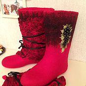 Обувь ручной работы. Ярмарка Мастеров - ручная работа Валенки ручной работы Valentina. Handmade.