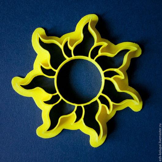 """Кухня ручной работы. Ярмарка Мастеров - ручная работа. Купить Солнце """"Рапунцель""""- №108 Вырубка для пряника. Handmade. Форма для вырубки"""
