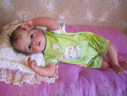 Куклы-младенцы и reborn ручной работы. Ярмарка Мастеров - ручная работа. Купить Кукла реборн Лючия. Handmade. Кукла реборн
