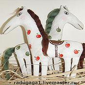 Куклы и игрушки ручной работы. Ярмарка Мастеров - ручная работа Кони в яблоках. Handmade.