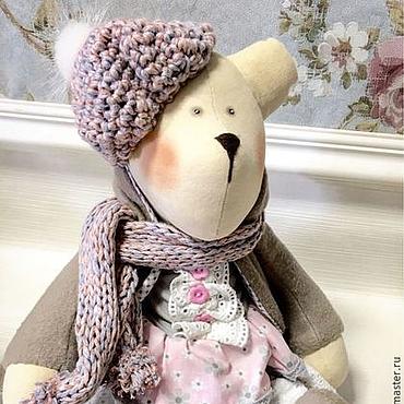 Куклы и игрушки ручной работы. Ярмарка Мастеров - ручная работа Медведь в стиле Тильда. Handmade.