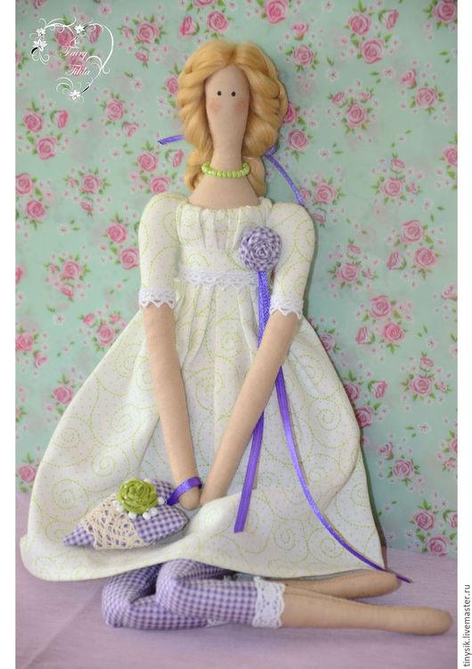 Куклы Тильды ручной работы. Ярмарка Мастеров - ручная работа. Купить летняя Тильда - Луиза. Handmade. Кукла интерьерная