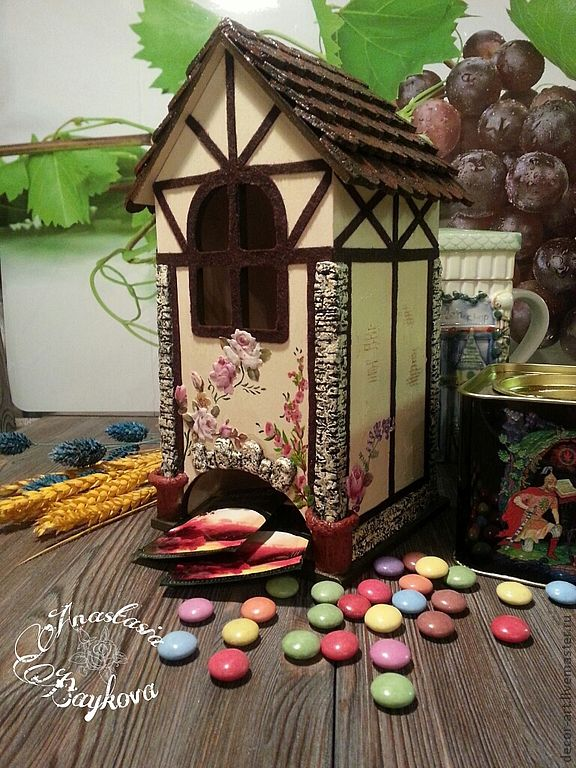 Чайный домик мастер-класс
