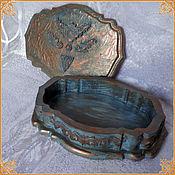 """Для дома и интерьера handmade. Livemaster - original item Casket """"Copper"""". Handmade."""