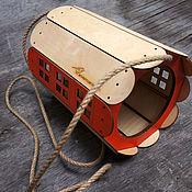 handmade. Livemaster - original item A bird feeder from a tree