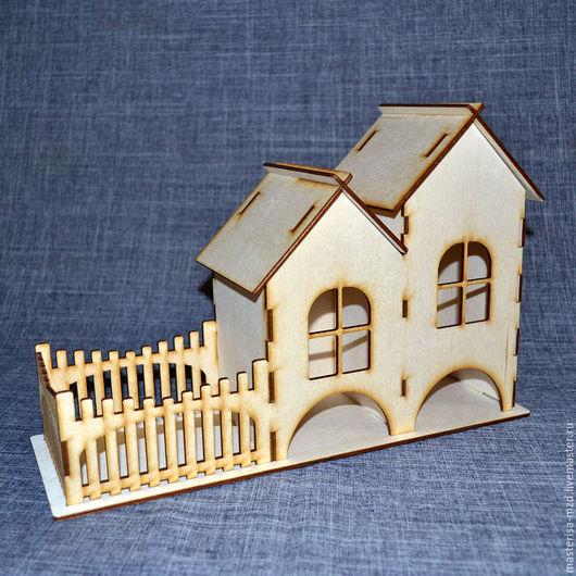 ЧД-13-004. Двойной чайный домик с конфетницей. Подойдет для большой семьи и украсит ваше чаепитие!
