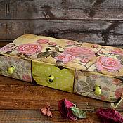 Для дома и интерьера handmade. Livemaster - original item Mini-dressers: Shabby chic.. Handmade.