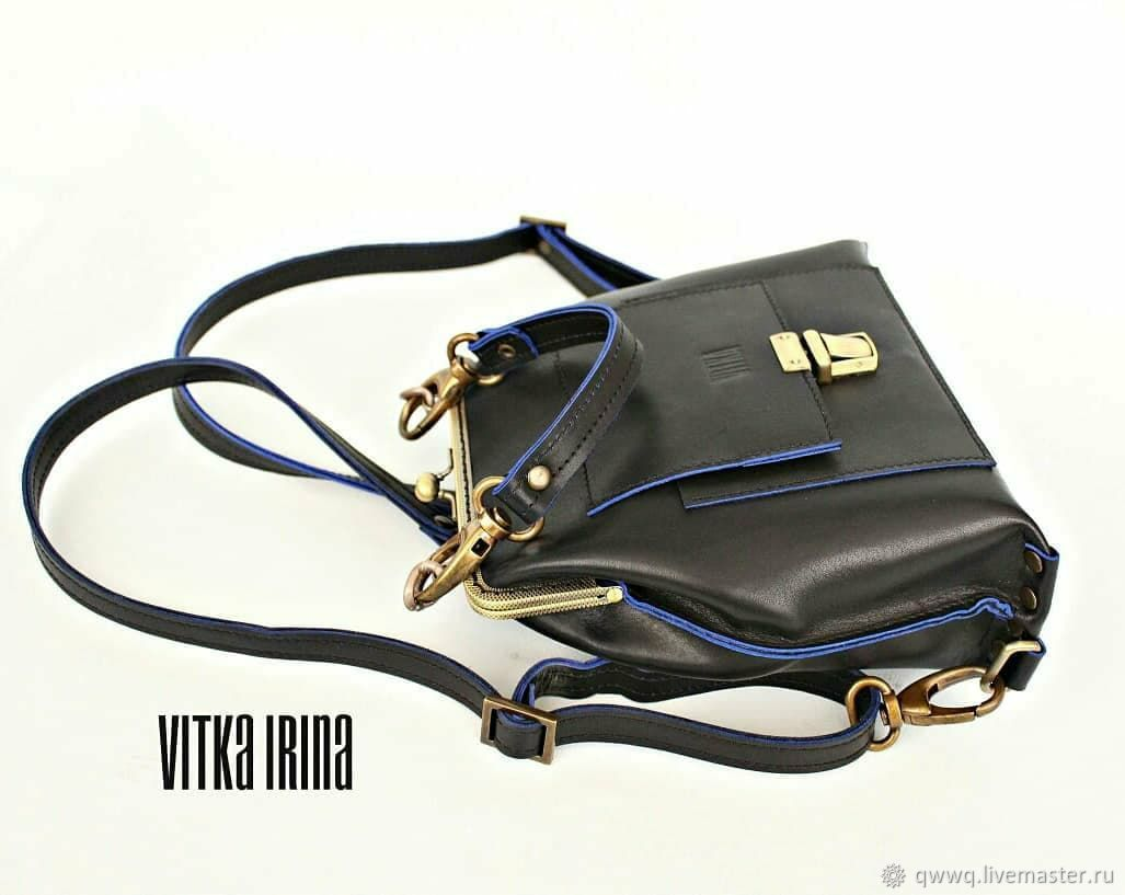 0d7832cb3790 Кожаный рюкзак-сумочка