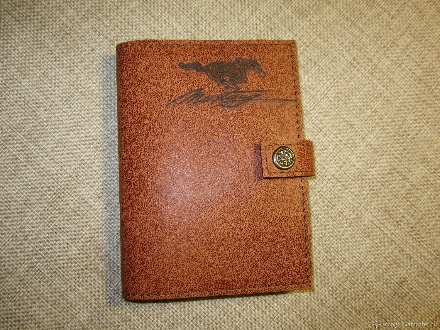 A purse for autodocs.Leather cover for passport or car documents, Purse, St. Petersburg,  Фото №1