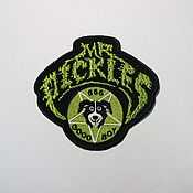 Patches handmade. Livemaster - original item Mr. Pickles patch. Handmade.