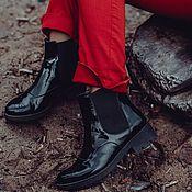 Обувь ручной работы. Ярмарка Мастеров - ручная работа Полусапоги Business. Handmade.