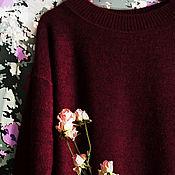 Одежда ручной работы. Ярмарка Мастеров - ручная работа джемпер из альпаки. Handmade.