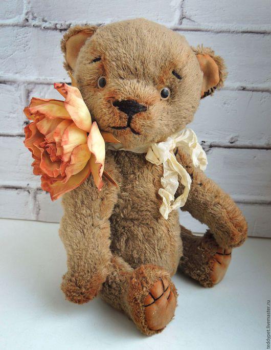 Мишки Тедди ручной работы. Ярмарка Мастеров - ручная работа. Купить Мишка Тедди Доброша. Авторский мишка. Handmade. Бежевый