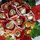 Букеты ручной работы. Сладкий цветок с конфетами и чупсами. АЛЛА (plushbyket). Ярмарка Мастеров. Сладкий цветок, букет из конфет