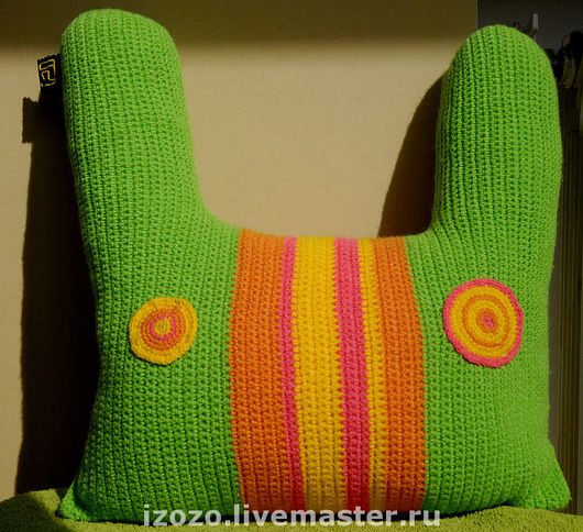 Текстиль, ковры ручной работы. Ярмарка Мастеров - ручная работа. Купить Zuki. Handmade. Подушка-игрушка, прикольная подушка, подушка