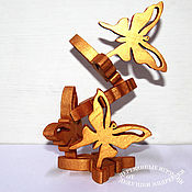 Куклы и игрушки handmade. Livemaster - original item Butterfly. The balancer is made of wood. Decorations on the Christmas tree. With faith in Miracles. Handmade.