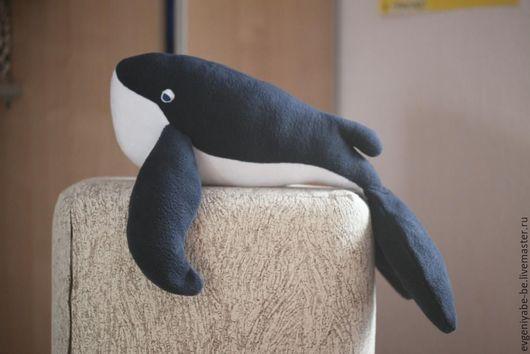 Игрушки животные, ручной работы. Ярмарка Мастеров - ручная работа. Купить Мягкая игрушка кит. Handmade. Тёмно-синий, кит