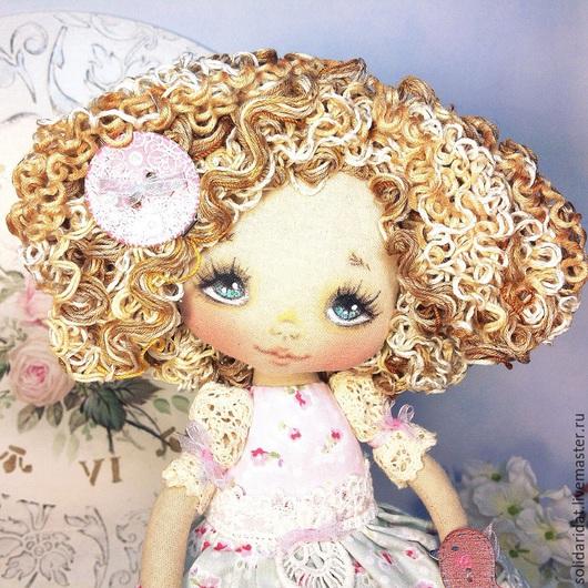 Ароматизированные куклы ручной работы. Ярмарка Мастеров - ручная работа. Купить Дарина. Handmade. Коллекционная кукла, винтажный стиль