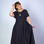 Одежда handmade. Livemaster - original item Boho Linen Sundress, Loose Silhouette dress. Handmade.