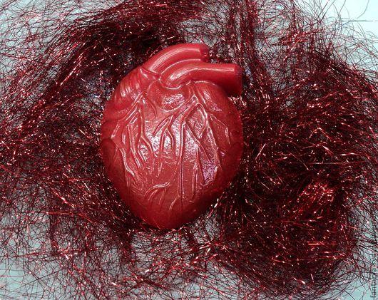 """Мыло ручной работы. Ярмарка Мастеров - ручная работа. Купить Мыло """"Живое сердце"""".. Handmade. Сердце, подарок девушке"""