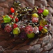 Bead bracelet handmade. Livemaster - original item Assorted Berry bracelet. Handmade.