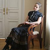 Одежда ручной работы. Ярмарка Мастеров - ручная работа Длинная юбка Академия. Handmade.