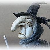 Куклы и игрушки handmade. Livemaster - original item The Witch Mrs. Amanda Davies. Handmade.