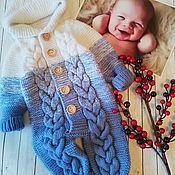 Работы для детей, handmade. Livemaster - original item Romper for baby. Handmade.