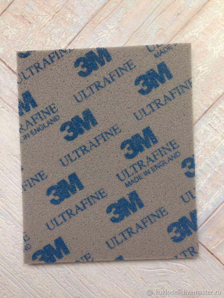 ручной работы. Ярмарка Мастеров - ручная работа. Купить Абразивная губка ultrafine. Handmade. Для кукол, комбинированный, блайз, блайзомания