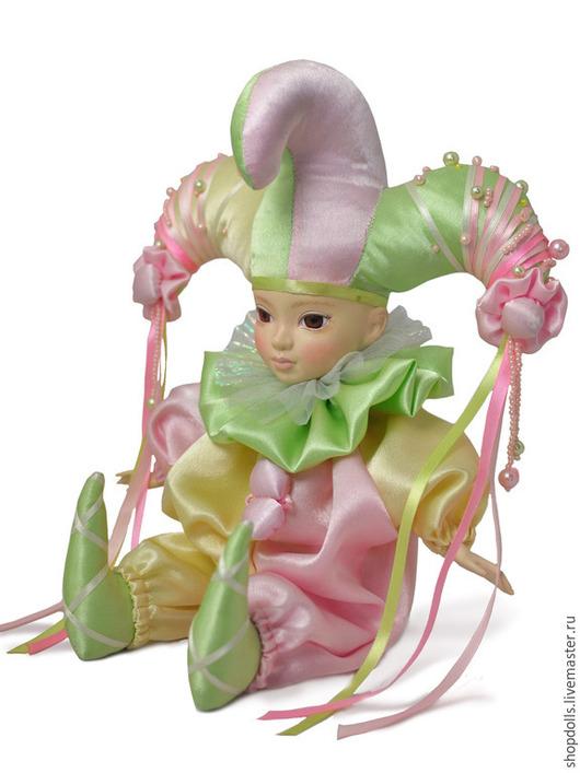 Коллекционные куклы ручной работы. Ярмарка Мастеров - ручная работа. Купить Кукла Карамель. Handmade. Кукла ручной работы, розовый