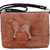 Сумки и аксессуары handmade. Livemaster - original item 3D Bag made of genuine leather