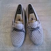 Ботинки ручной работы. Ярмарка Мастеров - ручная работа Вязаные женские ботинки. Handmade.