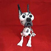 Куклы и игрушки handmade. Livemaster - original item Dog Baskerville marble dog. Handmade.