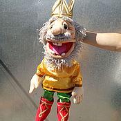 """Куклы и игрушки ручной работы. Ярмарка Мастеров - ручная работа Царь. Кукла на руку """"МАПЕТ"""".. Handmade."""