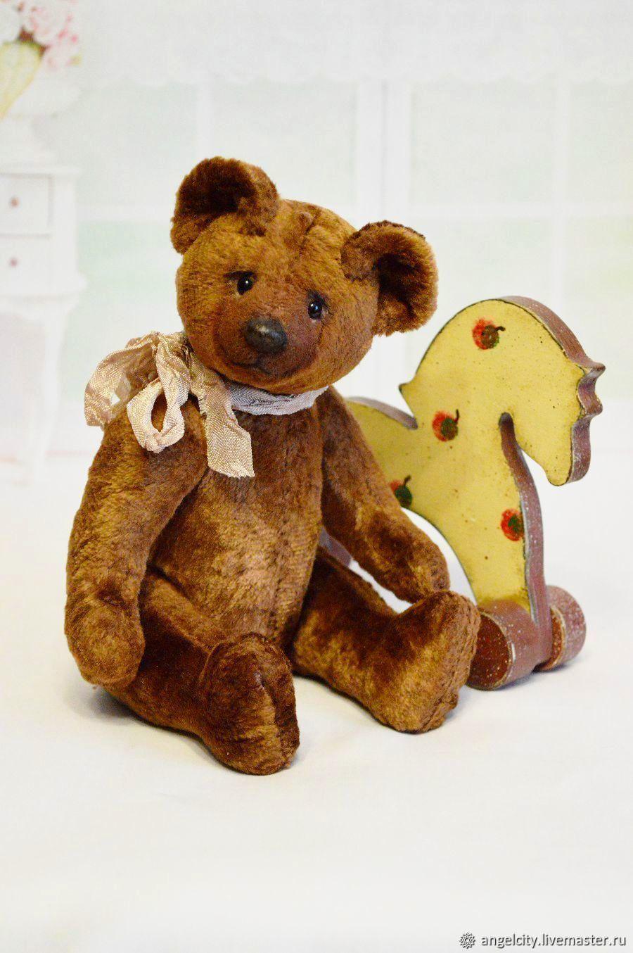 Советский мишка  (выкройка 1950-70 годов), Мишки Тедди, Самара,  Фото №1