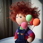 Куклы и игрушки ручной работы. Ярмарка Мастеров - ручная работа Кукла-мальчик. Handmade.